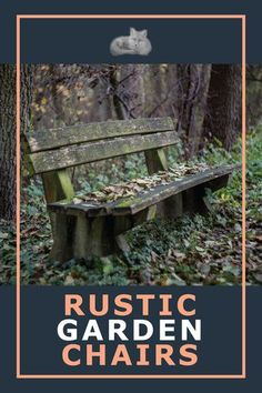 If you have a covered porch, deck or private patio, twig and barnboard benches and chairs are the perfect accompaniment to your rustic country garden décor. Even if they are left outdoors their ephemeral nature has a charm of its own. Add the quaint charm of rustic garden chairs to your garden. #rusticgardendiy #gardenchairs #diygardenchairs Rustic Hardware, Modern Rustic Decor, Rustic Gardens, Garden Theme, Garden Chairs, In The Tree, Rustic Furniture, Benches, Porch