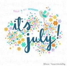 love print studio blog: Hello July...
