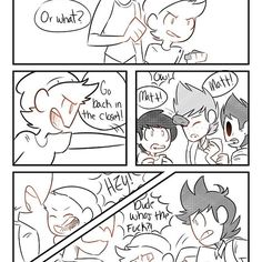 Part 7 of pupils comic! Poor Matt >.< [all credit goes to weirdodoodles on tumblr!] • • Tags~ #eddsworld #eddsworldships #ship #ships #ew #eddsworldcomics #tommatt #tomtord #eddtord #tordtom #cute #comic #comics #idk
