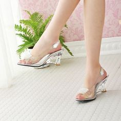 62bf56e9acc153 Chelsea Boots Streetstyle. Jelly ShoesComfortable ShoesComfy ShoesPeep Toe  WedgesWedge SandalsShoes SandalsSummer SandalsSandalia Peep ToeChanel. New  Womens ...