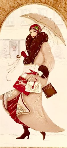 Shopping in the Snow