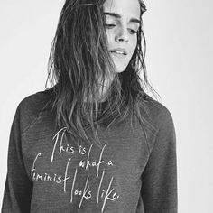 Emma Watson Feminism Fashion Elle