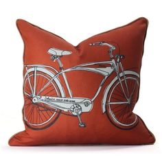 Cruise Pillow Persimmon now featured on Fab.  ships to US only