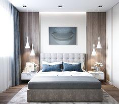 ДИЗАЙН СТУДИЯ А Бs photos – photos Luxury Bedroom Design, Modern Master Bedroom, Master Bedroom Design, Trendy Bedroom, Home Decor Bedroom, Decor Room, Master Bedrooms, Room Interior, Interior Design