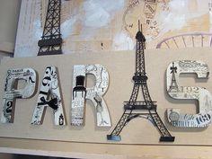 Paris Wall Decor _kchaynes