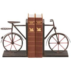 Combining my two loves: bicycles and books