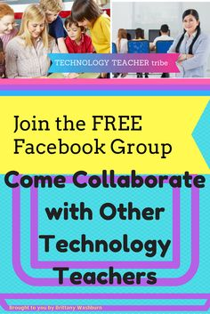 Are you a technology teacher? Would you like to be part of a group where you can ask questions and get advice from other technology teachers? Then request entry to the Technology Teacher Tribe Facebook Group today!