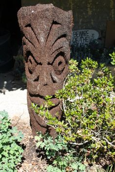 Image result for carved ponga Tree Fern, Ferns, Firewood, Garden Ideas, Carving, Texture, Image, Crafts, Surface Finish