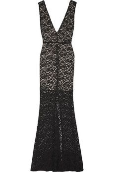 Alice + Olivia Mia stretch-cotton blend lace maxi dress   NET-A-PORTER @gtl_clothing #getthelook http://gtl.clothing