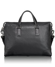 Men s Leather Items ·  495 Tumi Luggage Beacon Hill Irving Slim Leather  Brief, Black, One Size Pouch, 28613b71f6