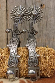 JW spurs from Custom Cowboy Shop-SR