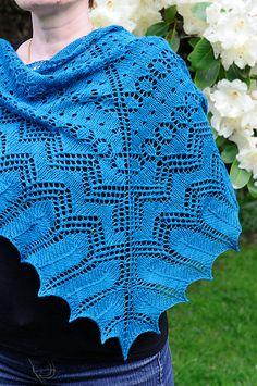 sparrowette free shawl pattern
