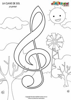 Music coloring pages for kids. Music Lessons For Kids, Music For Kids, Music Crafts, Music Decor, Music Activities, Music Games, Music Doodle, Kindergarten Songs, Music Worksheets
