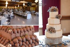 Wedding Cakes / Tammy Luker Photography / The Dominion House
