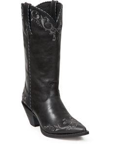 "Lu's selection - Durango Women's 12"" Crush Scroll Boots - Black"
