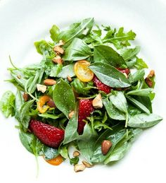 Strawberry Kumquat Salad