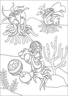 ариэль подводный мир рисунок: 15 тыс изображений найдено в Яндекс.Картинках