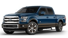 2017 Ford F-150 Blue Jeans King Ranch Future Trucks, New Trucks, Future Car, Ford Trucks, King Ranch Truck, Ford F150 King Ranch, Build A Ford, 2019 Ford, Cool Cars