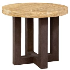 SANTIAGO Occasional Side Table by Robert James Collection.