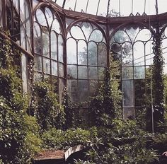 Beautiful abandoned greenhouse, which is part of the Chateau Rolls Royce abandoned castle, Belgium. My entry for this weeks ASW contest - this beautiful abandoned greenhouse, which is part of the Chateau Rolls Royce… by tillygerbi Abandoned Castles, Abandoned Mansions, Abandoned Buildings, Abandoned Places, Underwater Ruins, City Of Petra, Ruined City, Temple Ruins, Most Haunted Places