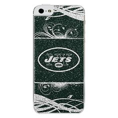 NFL New York Jets Bling iPhone 55S Applique GreenWhite *** See this great product.