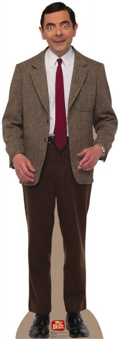 Mr. Bean Lifesize Standup Creepy but, awesome all at once! It might just be worth it to put in the back sliding door!