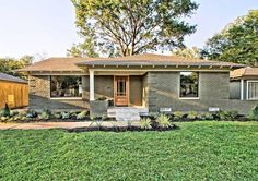 Dallas remodeler uses efficient design to create more space in remodeling a midcentury home.