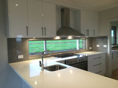 Contemporary country style home. Views from the splashback! #quilliambuilding #classiqcabinetry