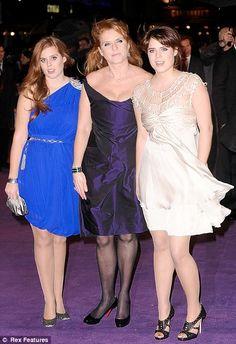 sarah ferguson with daughters eugenie