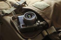 Fuji Finepix X100 retro camera by PC Advisor Magazine, via Flickr