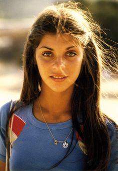 80s-90s-supermodels:  Carine Roitfeld, mid 70s