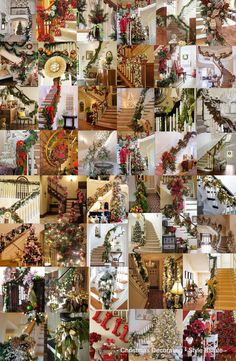 50 Stunning Christmas Staircase Decorating Ideas - Style Estate -