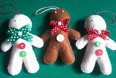 Enfeite de Natal Boneco Gingerbread - 2,50€