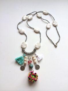 Boho style necklace www.etsy.com/shop/unicajewellery