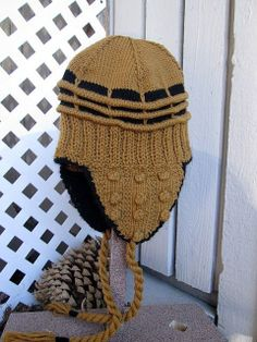 Knitting Pattern For Dalek Hat : 1000+ images about knitting on Pinterest Baby hats, Hats ...