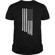 Black american flag america patriot usa t shirt - Tshirt
