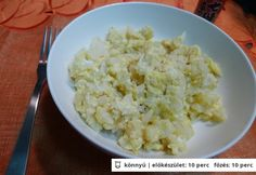 Gyors tojásos karfiol