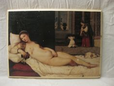 VENUS OF URBINO, wood board, wood wall art, Handmade wood print. Home decor, Renaissance Art di KnockOnWoodCraft su Etsy