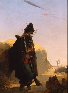 Girolamo Induno, Legionario garibaldino alla difesa di Roma, 1849