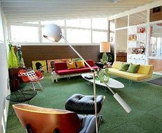 Image result for mid century game room