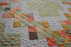 Meadow Mist Designs: Candy Circle Quilt at the Moda Bake Shop