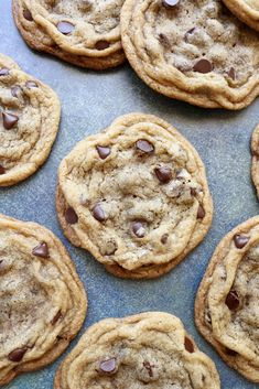 Chocolate Chip Cookies | A Palate For Pie