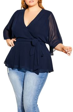Plus Size Chic, Plus Size Looks, Women's Plus Size Style, Peplum Top Outfits, Curvy Outfits, Work Outfits, Plus Size Going Out Outfits, Plus Size Outfits, Plus Size Peplum