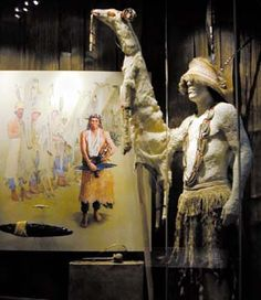 The White Deerskin Dance is performed every other year and is used to pray for success in the gathering of fish, deer and other sustenance. LBD
