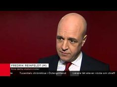 Reinfeldt: Invandrarna har mer rätt till Sverige än svenskarna - YouTube He is a traitor. He simply says that sweden does not belong to the swedes, it belongs to immigrants.