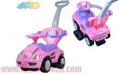 Detské odrážadlo chodítko auto 3v1 ružové Toys, Activity Toys, Clearance Toys, Gaming, Games, Toy, Beanie Boos