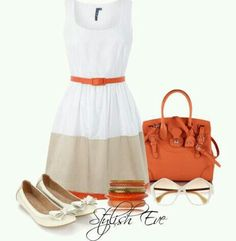 Simple pretty dress