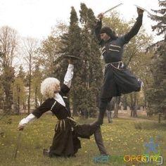 Cossack Dancers