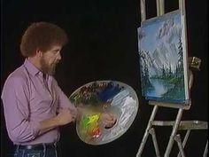 Bob Ross - Winter Evergreens (Season 9 Episode 1) - YouTube