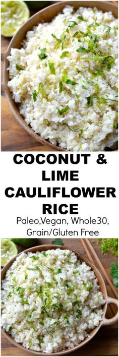 Coconut Cauliflower Rice